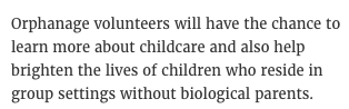 j.k rowling voluntourism child institutionalization