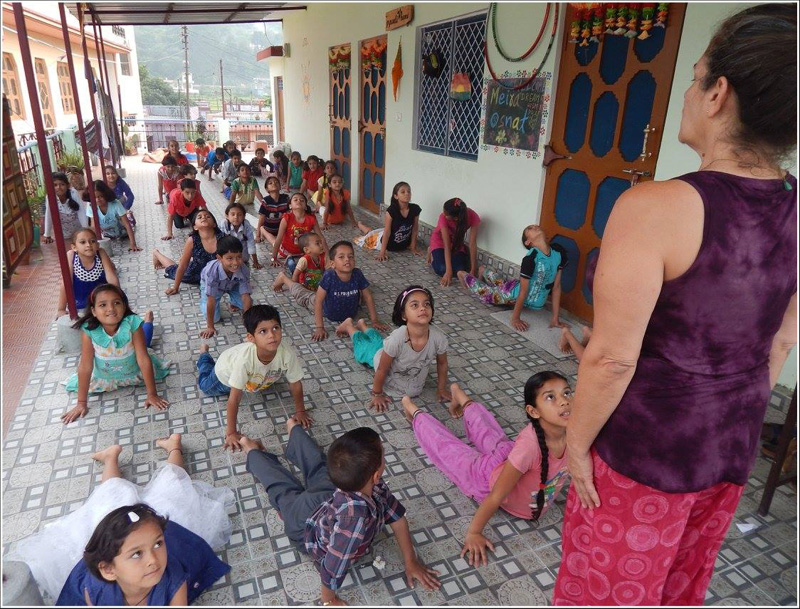 Volunteer Abroad India Gauchar Yoga
