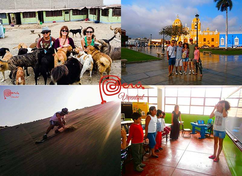 volunteer abroad opportunities holiday families children kids animals teaching peru