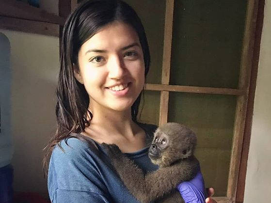 Isabella's Adventure with RAREC 🐒💚 Our #givinghappiness Giveaway Winner's Volunteer Experience!✨